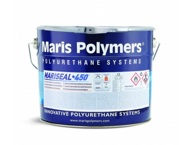 MARIS POLYMERS - MARISEAL 450 - 17kg - ΓΚΡΙ - Αλειφατική, υγρή, πολυουρεθανική, στεγανωτική μεμβράνη διαλύτου, ενός συστατικού, κατάλληλη για την υγρομόνωση μπαλκονιών και βεραντών.
