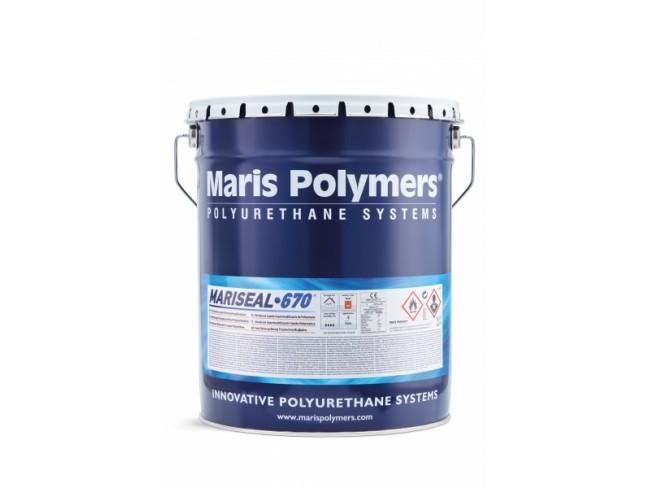 MARIS POLYMERS - MARISEAL 670 - ΜΑΥΡΟ 25kg - Στεγανωτική μεμβράνη πολυουρεθανικής - ασφαλτικής βάσεως.