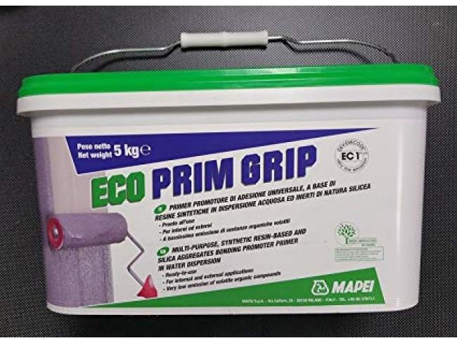 MAPEI - ECO PRIM GRIP - 5kg - Βελτιωτικό πρόσφυσης και αστάρι πολλαπλών χρήσεων.