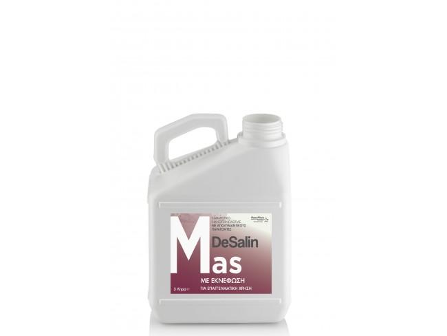 NANOPHOS - DeSalin Mas - 3lt - Βιοδιασπώμενο Καθαριστικό Νανοτεχνολογίας Εκνέφωσης με Απολυμαντικούς παράγοντες.