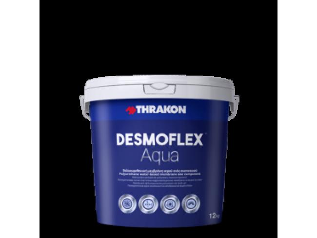 THRAKON - DESMOFLEX® AQUA - 12kg - ΛΕΥΚΟ - Επαλειφόμενη πολυουρεθανική αλειφατική μεμβράνη νερού.