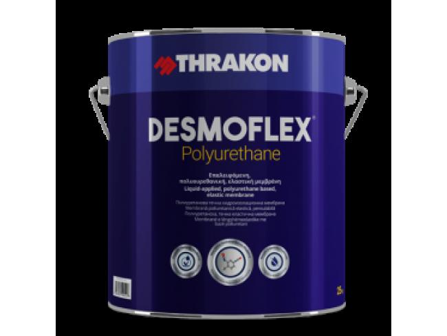 THRAKON - DESMOFLEX® POLYURETHANE - 25kg - ΛΕΥΚΟ - Νέας γενιάς επαλειφόμενη, πολυουρεθανική, ελαστική μεμβράνη διαλύτου.