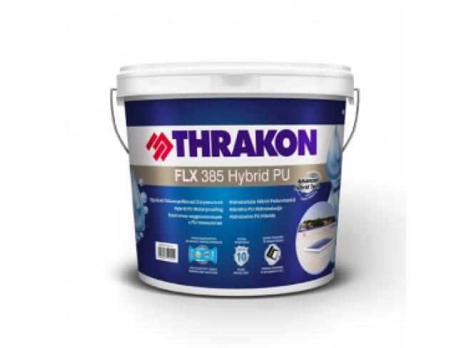 THRAKON - FLX 385 HYBRID PU - 12kg - ΛΕΥΚΟ - Yβριδική, ελαστική μεμβράνη στεγανοποίησης δωμάτων χωρίς διαλύτες.