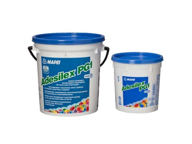 MAPEI - ADESILEX PG1  A+B  (1,5kg + 0,5kg) Θιξοτροπική εποξειδική κόλλα δύο συστατικών για συγκόλληση δομικών στοιχείων.