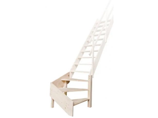 Σταθερή σκάλα εσωτερικού χώρου MILLER FAKRO - MSS Superior