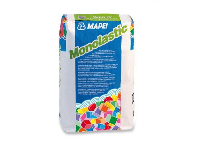 MAPEI - MONOLASTIC - 20kg - ΓΚΡΙ - Στεγανωτικό τσιμεντοκονίαμα ενός συστατικού.