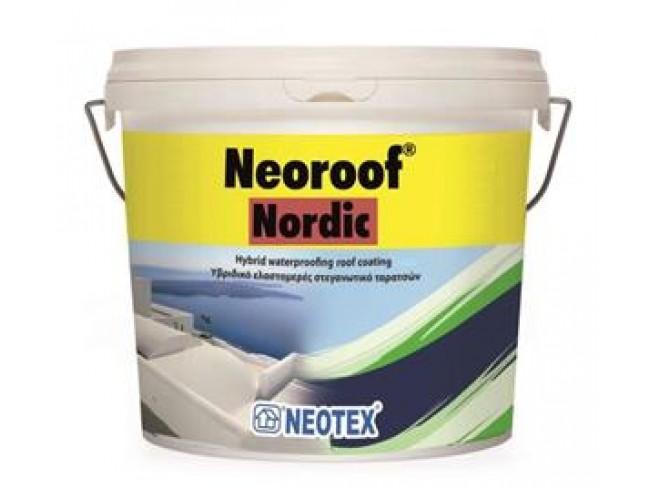 NEOTEX - Neoroof Nordic - Κεραμιδί - 13kg - Υβριδικό στεγανωτικό ταρατσών υψηλής απόδοσης.