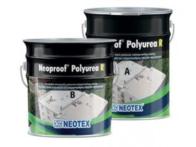 NEOTEX - Neoproof Polyurea R - 19kg (Α+Β) - ΛΕΥΚΟ - Επαλειφόμενη πολυουρία δύο συστατικών.