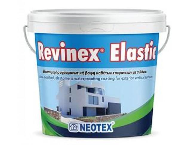 NEOTEX - Revinex Elastic - 10lt - Eλαστομερής υγρομονωτική βαφή με σιλάνια.