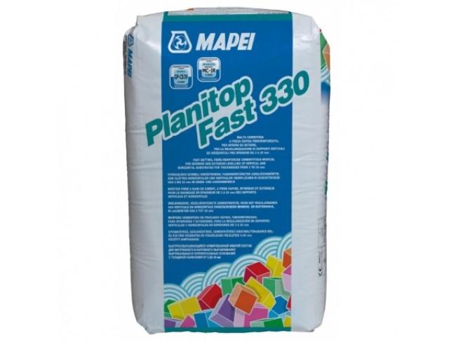 MAPEI - PLANITOP FAST 330 - 25kg - Ινοπλισμένο, εξομαλυντικό τσιμεντοκονίαμα, ταχείας πήξεως, για την επιπέδωση οριζόντιων και κάθετων επιφανειών.