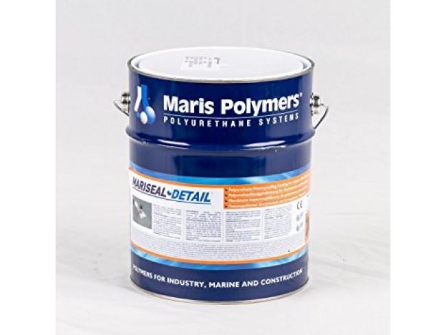 MARIS POLYMERS - MARISEAL DETAIL - ΓΚΡΙ - 6kg - Μονολιθική μεμβράνη πολυουρεθάνης, θιξοτροπική και ενισχυμένη με ίνες, για μακράς διάρκειας στεγανοποιήσεις λεπτομερειών σε οροφές.
