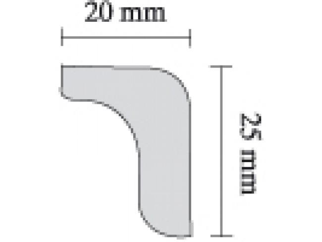 SAARPOR ΚΟΡΝΙΖΑ ΙΣΙΑ L25 - 2m.