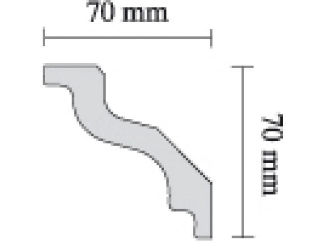 SAARPOR ΚΟΡΝΙΖΑ ΙΣΙΑ S100 - 2m.