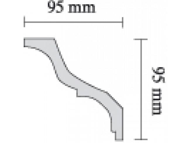 SAARPOR ΚΟΡΝΙΖΑ ΙΣΙΑ S110 - 2m.