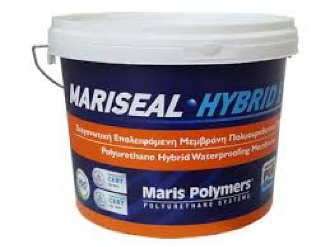 MARIS POLYMERS - MARISEAL HYBRID EVO - ΛΕΥΚΟ - 15kg - Υβριδικής τεχνολογίας, ελαστική, επαλειφόμενη πολυουρεθάνη, σε συνδυασμό με ακρυλικές ρητίνες, για μακροχρόνια στεγάνωση.