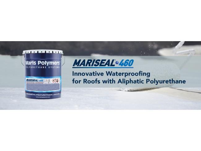 MARIS POLYMERS - MARISEAL 460 - 25kg  ΛΕΥΚΟ - Αλειφατική, υγρή, πολυουρεθανική, στεγανωτική μεμβράνη διαλύτου, ενός συστατικού.