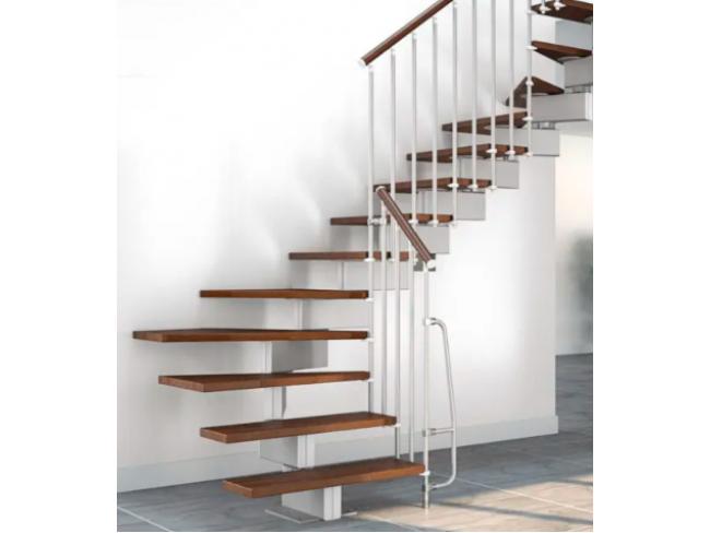 Σταθερή σκάλα εσωτερικού χώρου MOBIROLO STILO - πλάτος 70cm, ύψος έως 279cm.